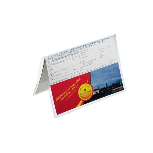 Durable Ausweishülle transparent A4 2141-19 296 x 210mmLasche rechts/links