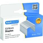 Rapesco Heftklammern 53/8 verzinkt Nr. RP538/8 PA= 2.000Stik