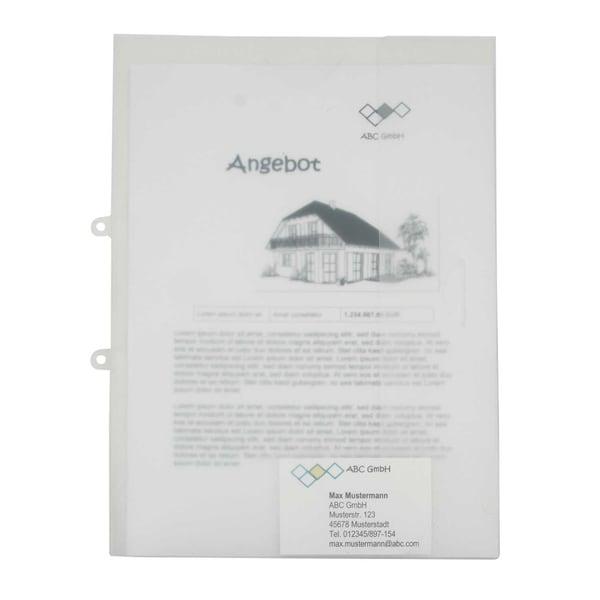Angebotsmappe 125306600 Polypropylen transparent