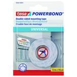 tesa Montageklebeband Powerbond univers. Nr. 58565-1-0 19mmx15m weiß