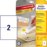 Zweckfom Universal-Etikett L4734REV-25 PA= 50Stk weiß 199.6x143.5mm nonpermanent