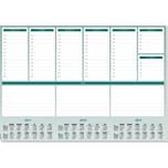 Sigel Schreibunterlage Weekly Papier Nr. HO500.59.5X41cm. 52Blatt. ohne Folie