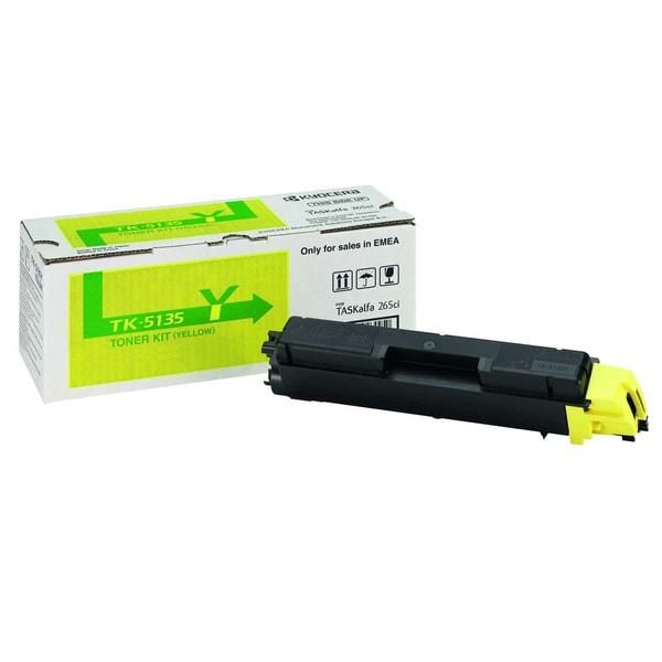 Original Kyocera Toner TK 5135Y yellow Nr. 1T02PAANL0 ca. 5.000 Seiten