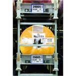 Durable Kennzeichnungstasche A5 quer Nr. 1743-07 magnet. blau PA 50Stk