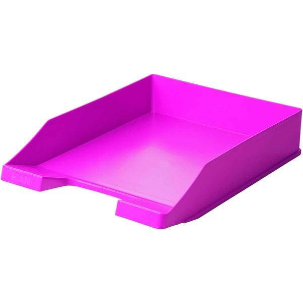 HAN Briefablage Klassik A4/C4 pink Nr. 1027-x-56 stapelbar hochglänzend