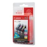 Canon Tintenpatrone CLI521 Multipack C/M/Y
