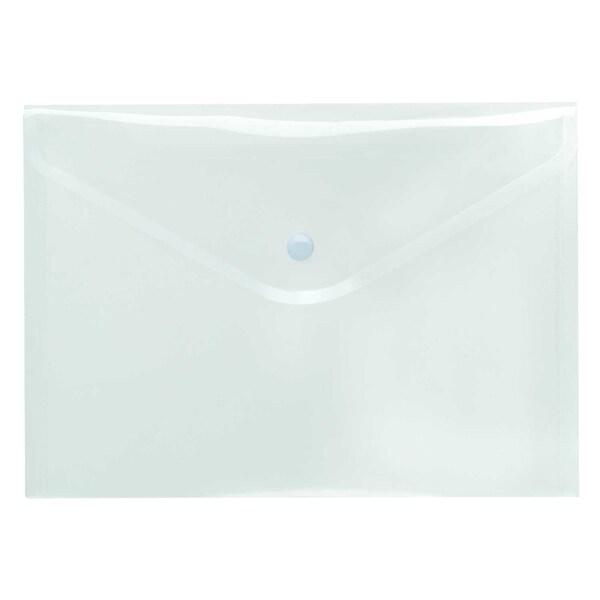 FolderSys Sichttasche A5 quer glänzend Nr. 40912-00 PA 10St PP Druckknopf