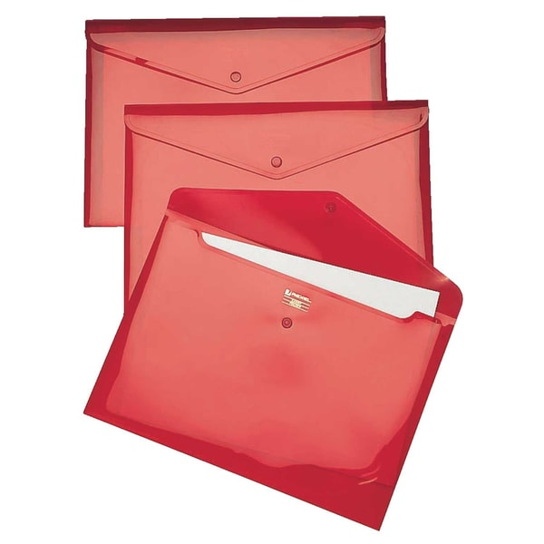 Rexel Aktentasche Carry Folder 16129RD DIN A4 rot 5 St./Pack.