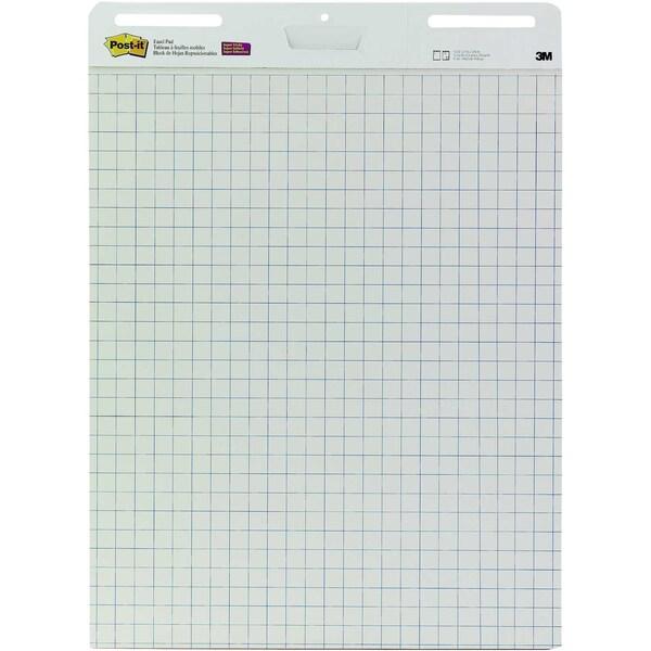 Post-it Flipchartblock Meeting Chart Nr. MC560 635x775cm kariert 30Blatt