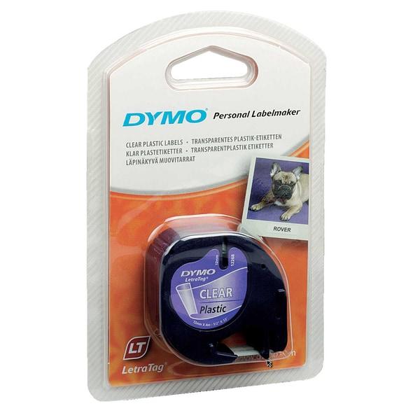 Dymo Schriftbandkassette Plastik klar 12mmx4m S0721550 16951