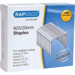 Rapesco Heftklammern 923/20 verzinkt Nr. RP923/20. PA= 1.000Stik