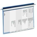 Durable Personalhefter A4 blau Nr. 2555-06 Reiter und Hängeschiene