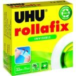 Uhu Klebefilm rollafix 36310 19mmx33m Nr. 36310 unsichtbar