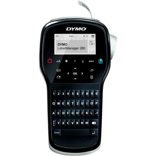 Dymo Beschriftungsgerät LM 280 Nr. S0968970 schwarz silber