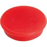Franken Haftmagnet Ø 24mm rot Nr. HM20 01. PA= 10Stk. Haftkraft 300g