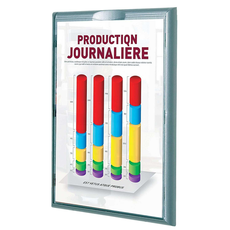 Paperflow Info Display A4 VE 1 ALU 406 PA4St