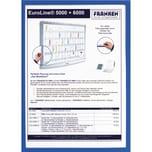 Franken Dokumentenhalter A5 blau Nr. ITSA5M 03. 3.2my. magnethaftend