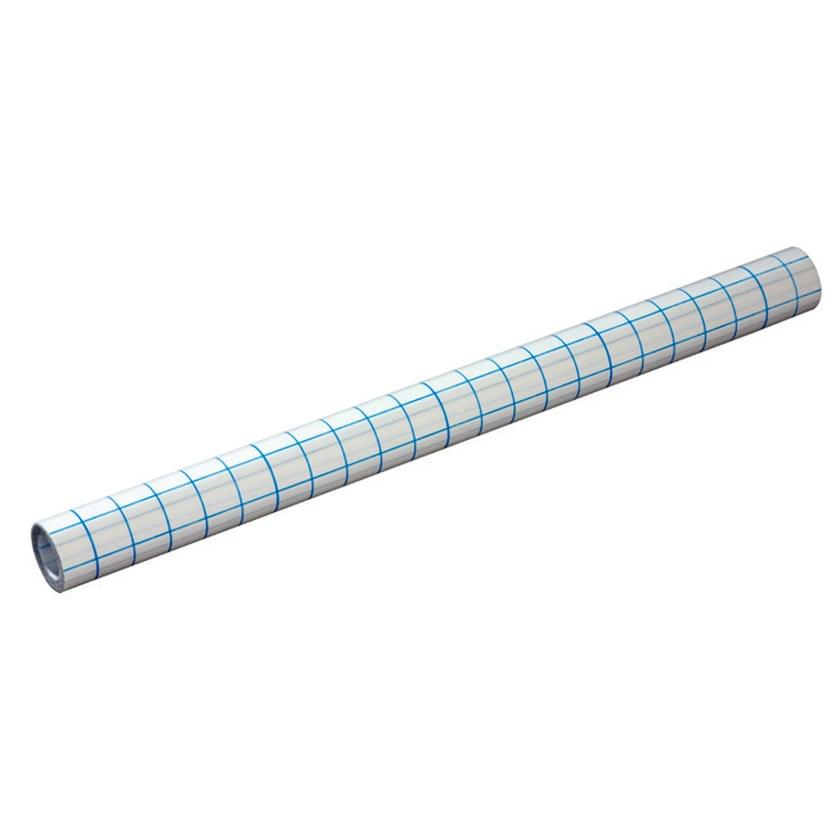 Bucheinbandfolie PP transparent 40cmx5m. selbstklebend