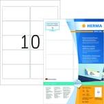 Herma Movables-Etikett Nr. 10307 weiß PA 1.000 Stk 96x508mm ablösbar
