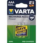 Varta Akku Ready2Use Micro Aaa Nr. 5703301402 12V Hr03 1.000Mah2St