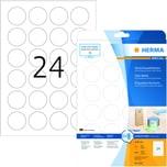 Herma Verschlussetikett 4263 transparent PA 600 Stück Ø 40 mm bedruckbar