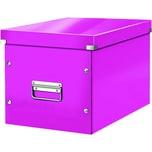 Leitz Archivbox Click & Store Cube A4 Nr. 6108-23 32x36x36cm weiß