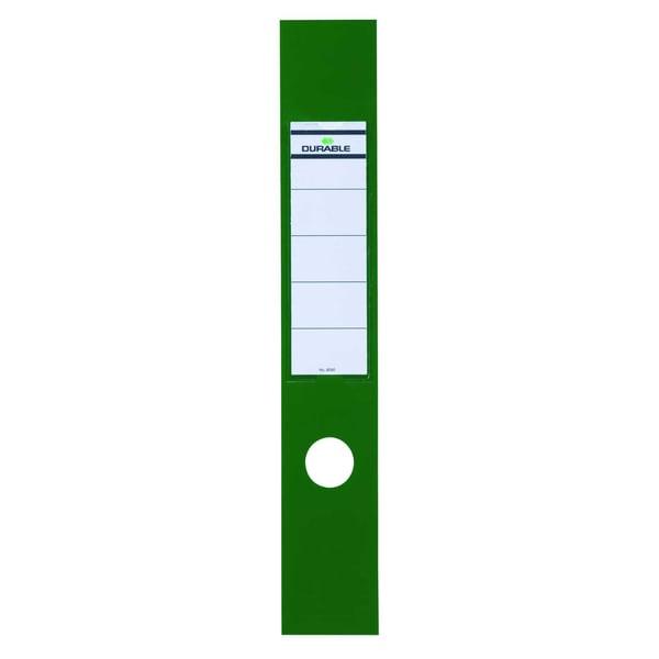 Durable Ordofix Rückenschild grün Nr. 8090-05 breit/lang PA 10 Stück