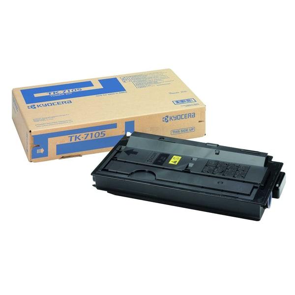Original Kyocera Toner TK 7105 schwarz Nr. 1T02P80NL0 ca. 20.000 Seiten
