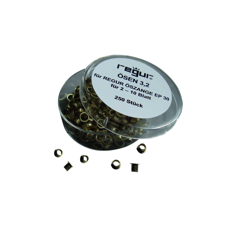 Regur® Ösen Länge 32mm messing PA250St