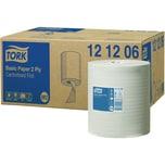 Tork Handtuchrolle M2 121206 160mx20cm 2lagig ws 6 Rl./Pack
