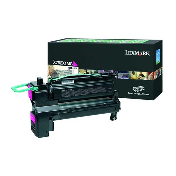 Lexmark Toner X792X1MG 20.000S. Magenta
