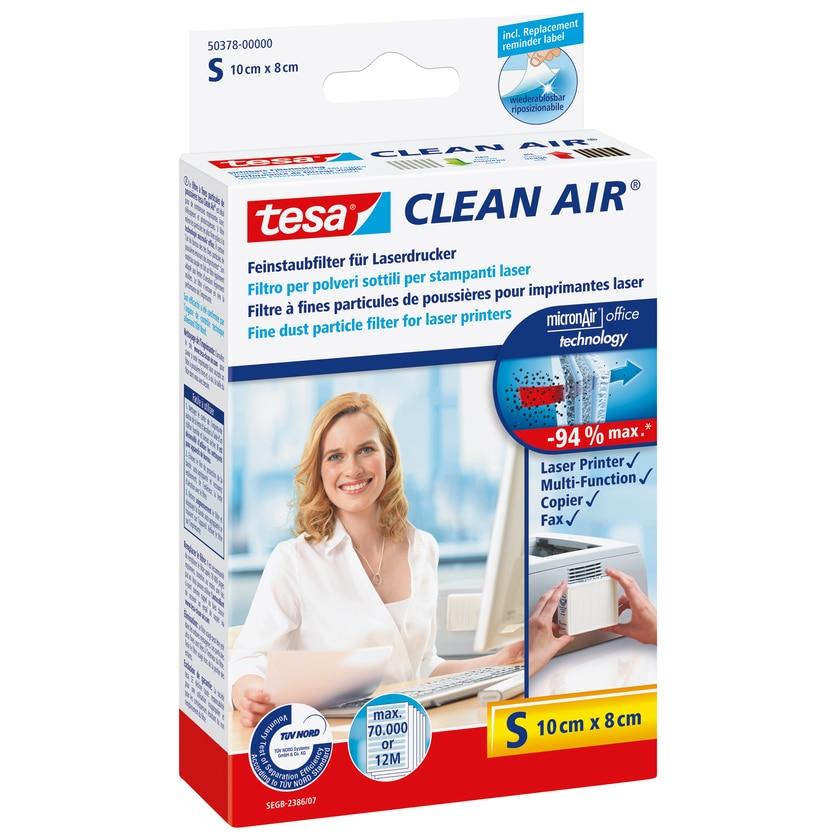 Tesa Clean Air Feinstaubfilter Für Laserdrucker Größe S 10X8Cm