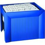 HAN Hängemappenbox Karat A4 blau Nr. 1905-14 für 35 Mappen