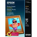 Epson Fotopapier Glossy A4 200g Nr. C13S042539 PA 50 Blatt glänzend