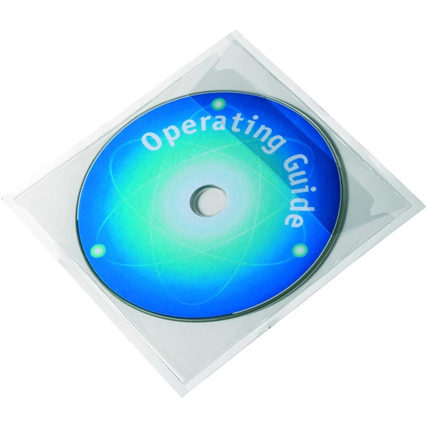 Durable CD/DVD-Tasche Pocketfix Nr. 8280-19 selbstklebend PA 100Stk
