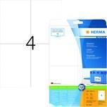 Herma Superprint-Etikett Nr. 5063 weiß PA 100 Stk. 105x148mm permanent