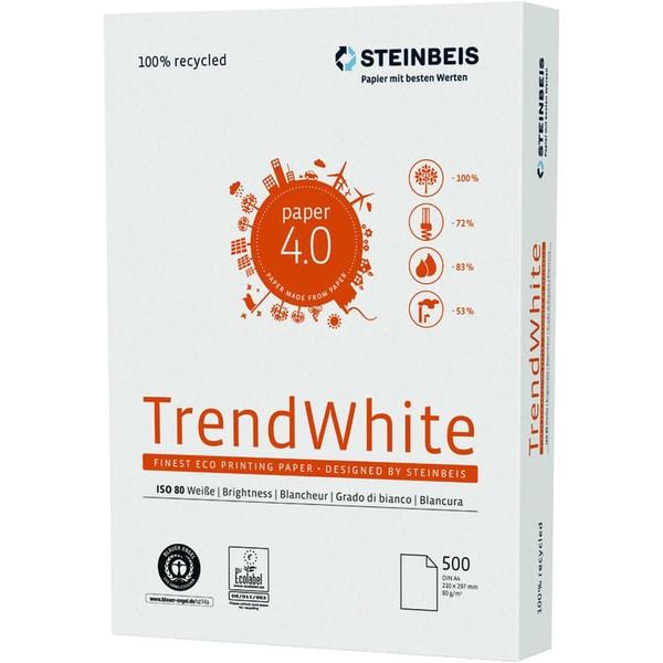 Steinbeis Kopierpapier TrendWhite A3 Nr. 8012B80B 80g PA= 500 Blatt
