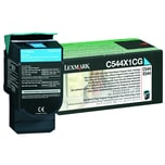 Lexmark Toner 0C544X1CG Rückgabe f. C544 X544 4.000S. cyan