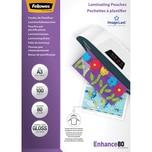 Fellowes Laminierfolie Enhance A3 80mic Nr. 5306207 PA 100Stk glänzend