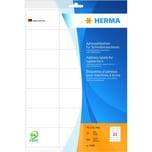 Herma Adress-Etiketten Nr. 4441 weiß PA 420 Stk 70x42mm