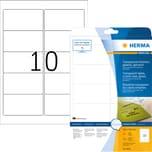 Herma Folien-Etikett Nr 8018 transparent PA 250Stk 96x508mm bedruckbar