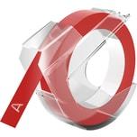 Dymo Prägeband 520102 selbstklebend Kunststoff 9mmx3m. glänzend rot