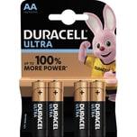 Duracell Batterie Alkaline Mignon AA Nr. 002562. LR06. 1.5V. PA= 4Stk.