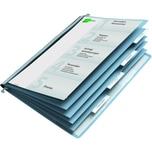 Durable Personalhefter A4 mit Rastreiter Nr. 2554-06 5fach Unterteilung blau