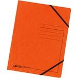 Falken Eckspanner Colorspan A4 orange Nr. 11286655 355g/m² ohne Klappen