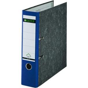 Leitz Ordner A4 80mm blau 10805035WolkenmarmorPräzisionsmechanik