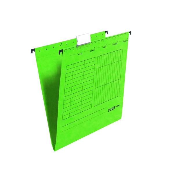 Falken Hängemappe UniReg A4 grün Nr. 80002520 230g Kraftkarton