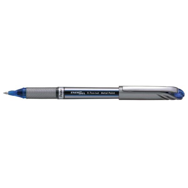 Pentel Gelroller EnerGel Plus Nr. BL27-C blau Strichstärke 035 mm