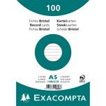 ExacomPTA Karteikarte A5 liniert weiß Nr. 10808SE. PA= 100Stk
