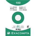 ExacomPTA Karteikarte A5 liniert weiß Nr. 10808SE PA 100 Stück